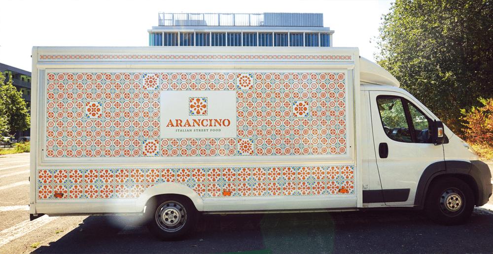 branding projects arancino-camioncino-street-food-design-branding-food-truck-luxembourg