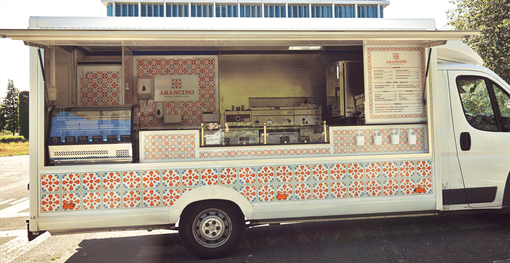 Coffee Company Food Truck
