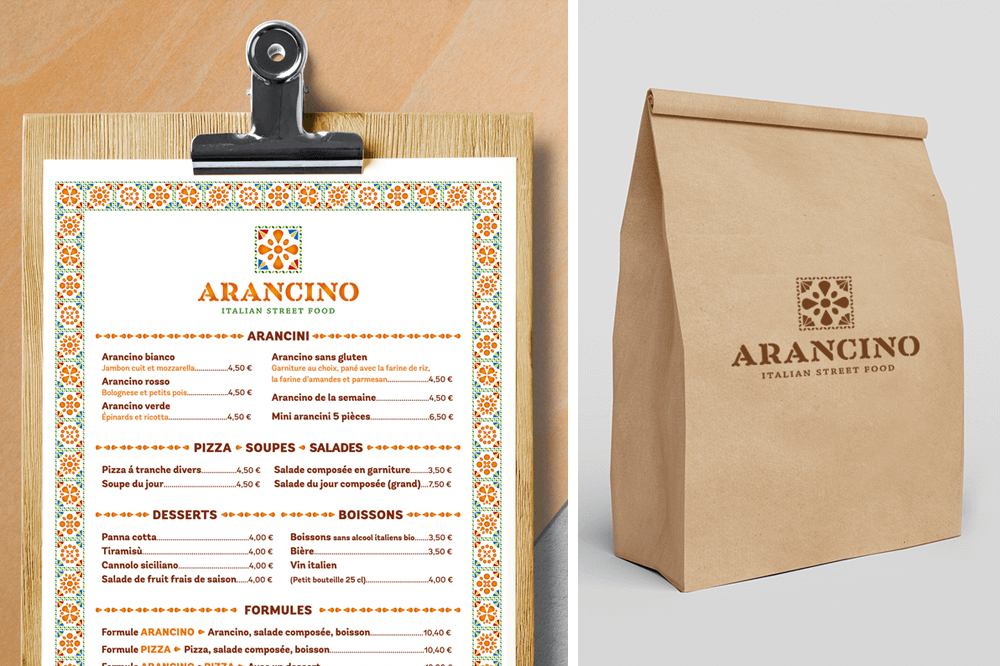 branding projects arancino-street-food-street-food-menu-packaging-design-branding-food-truck-luxembourg