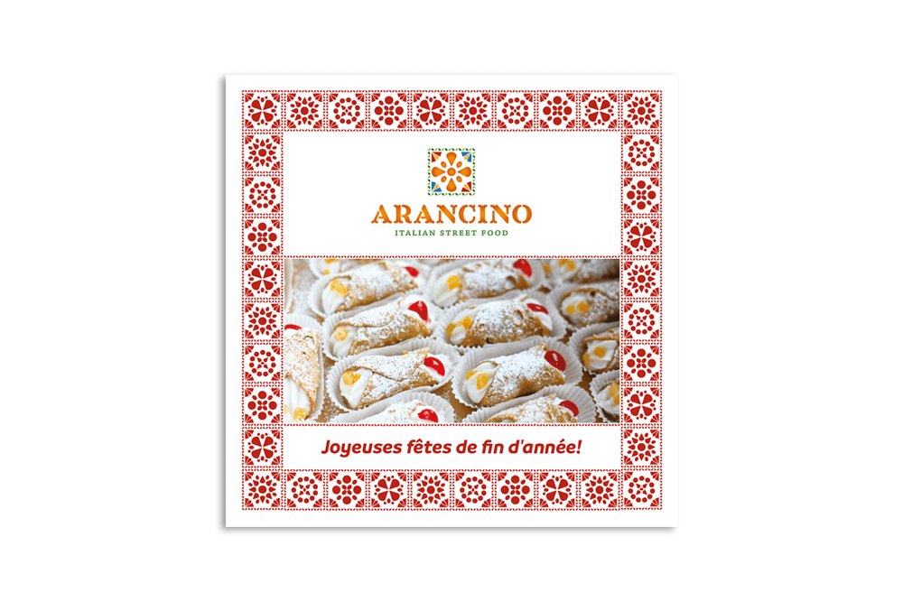 branding projects arancino-take-away-street-food-design-branding-greetings-card-food-truck-luxembourg