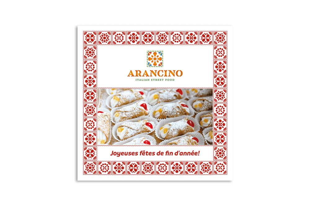 branding projects arancino-take-away-street-food-design-branding-greetings-card-food-truck-luxembourg