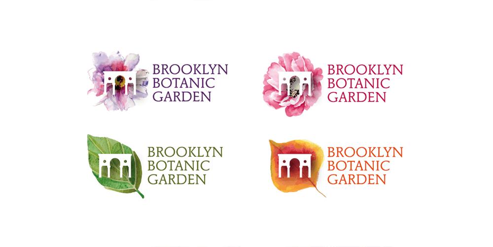 branding projects brooklyn-botanic-garden-nyc-logo-design-branding-flower-plants