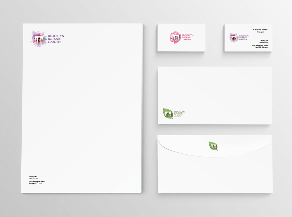 branding projects brooklyn-botanic-garden-nyc-stationery-logo-design-branding-flower-plants