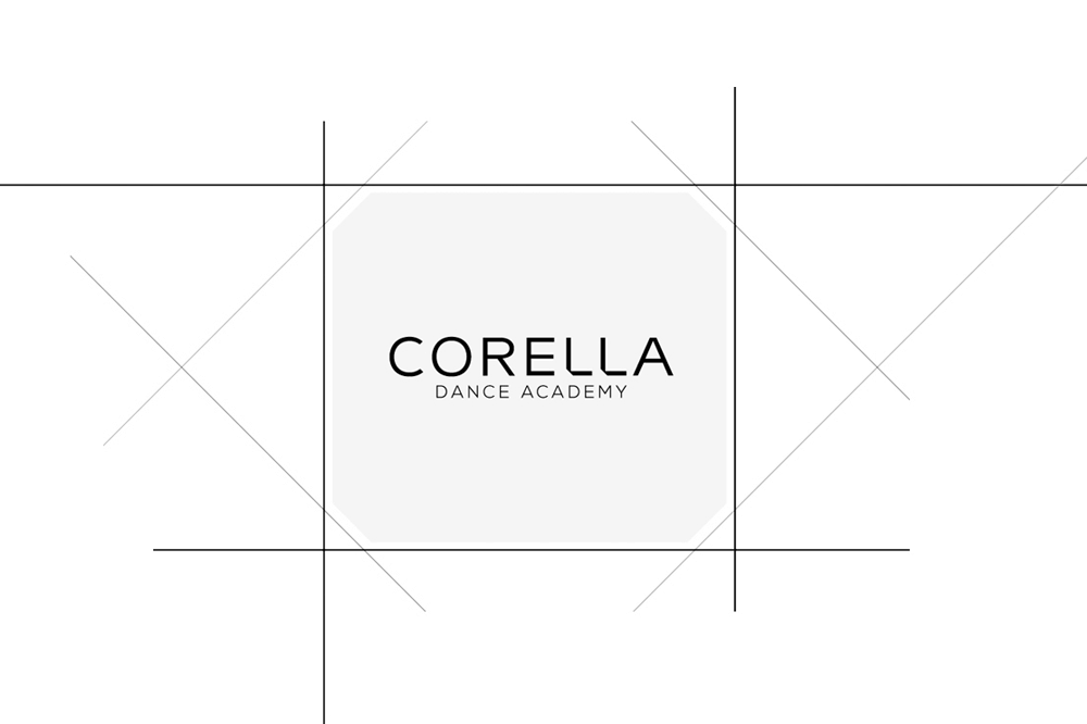 branding projects corella-dance-academy-logo-design-brandin-barcelona