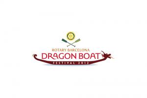 branding projects dragon-boat-rotary-barcelona-logo-design-branding