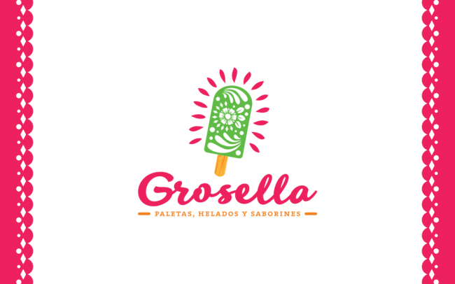grosella-mexican-ice-cream-barcelona-logo-branding-graphic-design