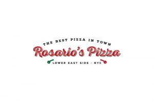 branding projects rosario-pizza-nyc-branding-logo-design