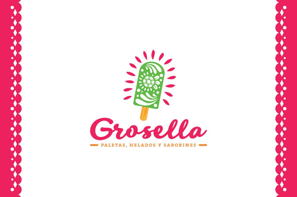 grosella-gelati-ghiaccioli-messico-messicani-naturali-barcelona-logo-logotipo-branding-graphic-design-catania-sicilia-gelato