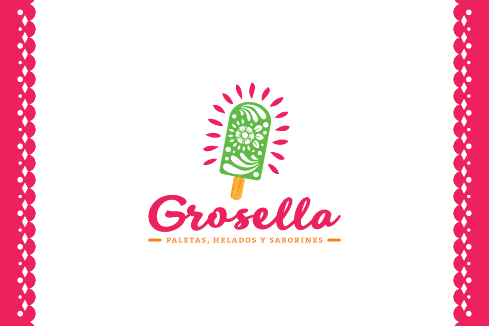 grosella-paletas-helados-mexicano-naturales-mexico-barcelona-logo-branding-diseño-grafico