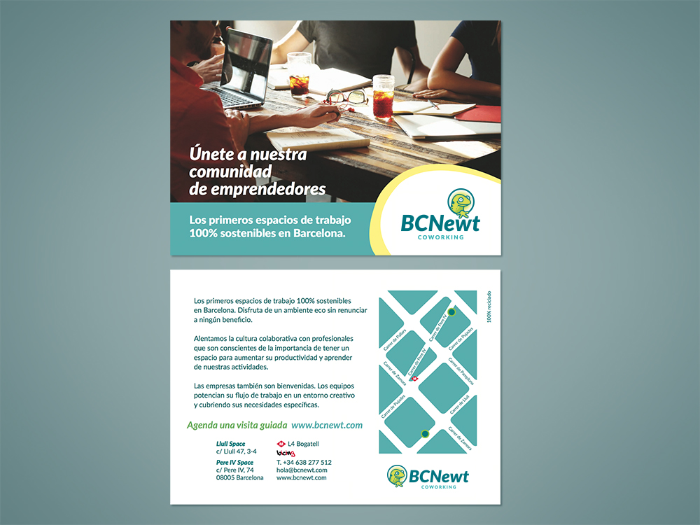 bcnewt-coworking-barcelona-logotipo-logo-branding-diseño-grafico-folleto-flyer-salamandra