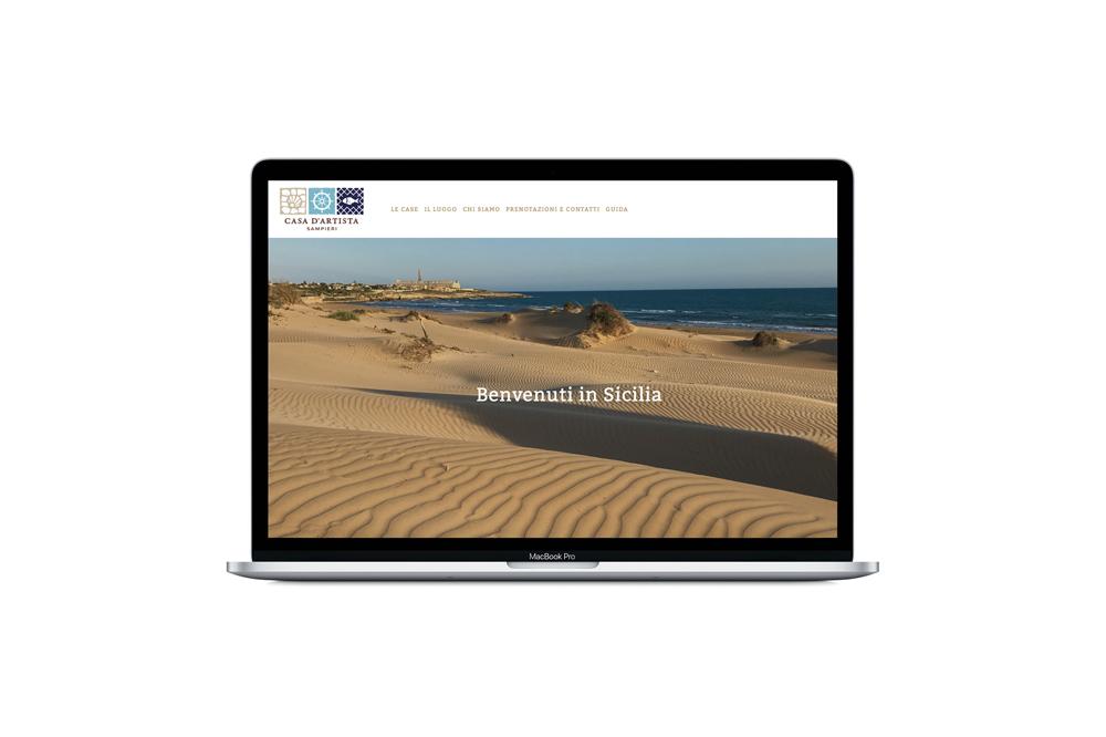 sampieri-sicilia-comisario-montalbano-marca-logo-mar-diseño-logo-piso-turistico-playa-mar-barcelona-branding-web